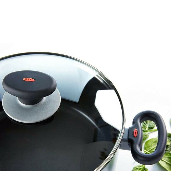 OXO SoftWorks Casserole + Straining Lid Non-Stick Cookware 24cm - 4.9L